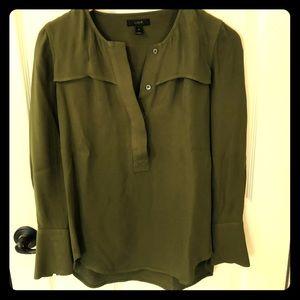 J.crew viscose blouse
